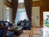 江北国汇山边位别墅242平,实用面积达500平,另带私家花园230平