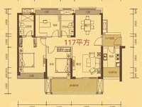 42学校旁中信凯旋城六期,116平方超大三房,7米长大阳台,仅售152万