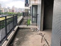 带2个露台南北通透毛坯4房带花园新天虹商圈有钥匙