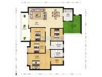 出售美林玉桂山4室2厅2卫143平米168万住宅