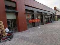 中海水岸城七期临街商铺出租,三个门面 10米宽,带阁楼