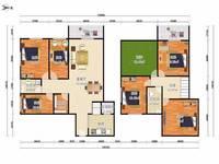 出售万景台6室3厅4卫230平米190万住宅