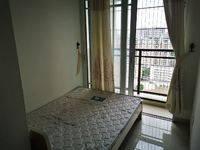 新天虹 泰豪南山翡翠标准一房一厅出租家私家电齐全电梯新房