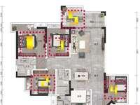 高铁站附近 7字头 95平5房 超实用户型 楼层靓