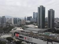城市花园高层江北中心区 华贸市政府超级景观