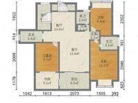 金山湖 御水豪庭全新毛坯三房两厅出售,南北通户型,前看湖,后看江,带十一小学位