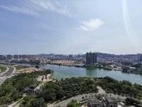 金山湖 九五至尊身份的象征 中洲湾上二期 豪宅楼王风水房 550万全年最低价格