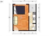 捡漏金山湖中心 全新装修带电梯 家私家电齐全 奥园领寓1房