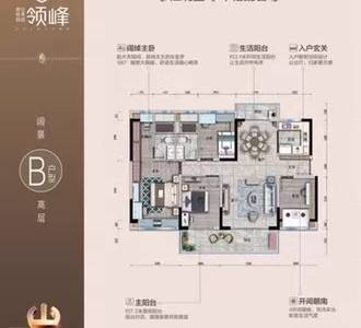 江北升值空间超大的区域江北东区碧桂园3房团购