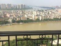 城市一号公寓,滨江公园购书中心楼上,生活便利,高层看双江景,带全齐家私家电