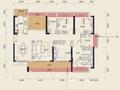中洲天御二期楼王栋138平 五房中高耧车楼层 南北通透 证满二年无欠款