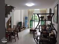 怡景华庭复式4加1房 临近新天虹 拎包入住 带个花园小露台 看房方便