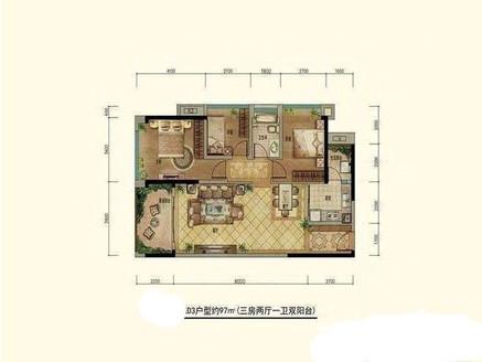 豪华装修3房 品牌家私家电 无敌视野 高层视野好 看房有钥匙