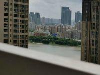 下角鹏达丽水湾全新毛坯可看江景电梯3房2厅 看房有钥匙 售价108万