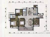 方直东岸三期 141平米南北通4房 送7米超长阳台 证满二年 花园中间