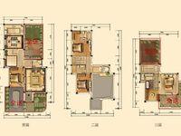 奥林匹克花园一期别墅,中间位,带前后花园双车位,270万就能买到带装修的别墅