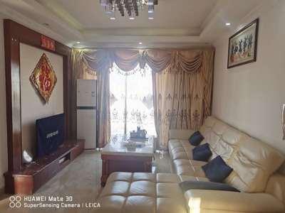 名牌家私电器 温馨舒适小家 威廉城邦3房90平家私电器齐全租2500元