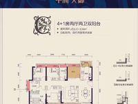 中洲天御楼王 大4房 好楼层 完美户型 证满2年过户费超低 看房有钥匙