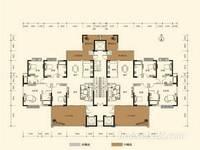 瑞峰公园里楼王 5房221平 40平私家露台340万 单价1.53万毛坯房