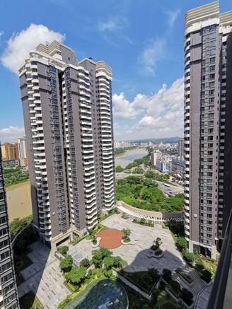 东湖九区隆生广场 楼层好 方正3房 朝南有钥匙看房
