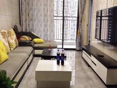 城区中心曼哈顿广场旁高端住宅 精装一室大阳台采光户型靓 价格实惠错过可惜!