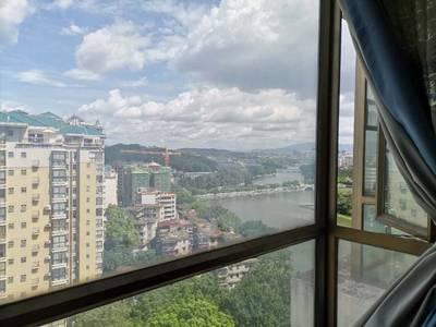 笋房推荐 最便宜的一中学位电梯房 西湖丽苑精装三房 户型方正 看房方便